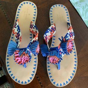 Kate Spade Idette Pom Pom sandal